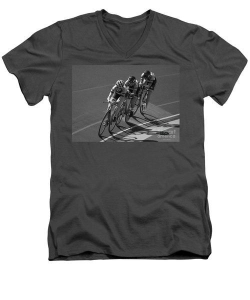 Women's Team Pursuit Men's V-Neck T-Shirt