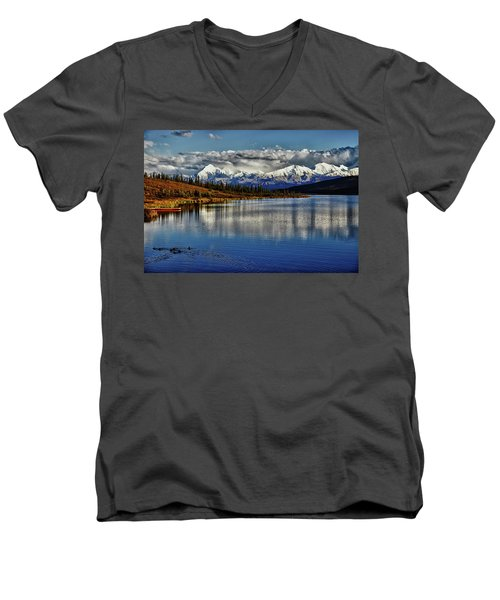 Wonder Lake IIi Men's V-Neck T-Shirt