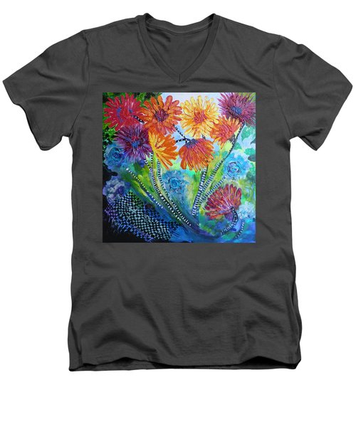 Wonderland Garden Men's V-Neck T-Shirt
