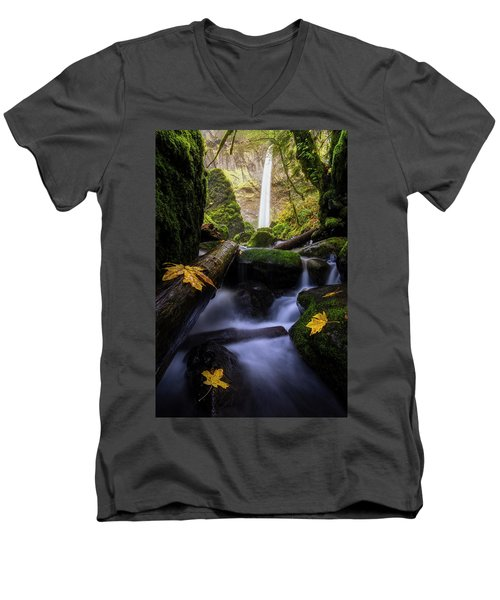 Wonderland In The Gorge Men's V-Neck T-Shirt