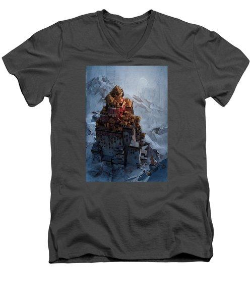 Wonders Holy Temple Men's V-Neck T-Shirt