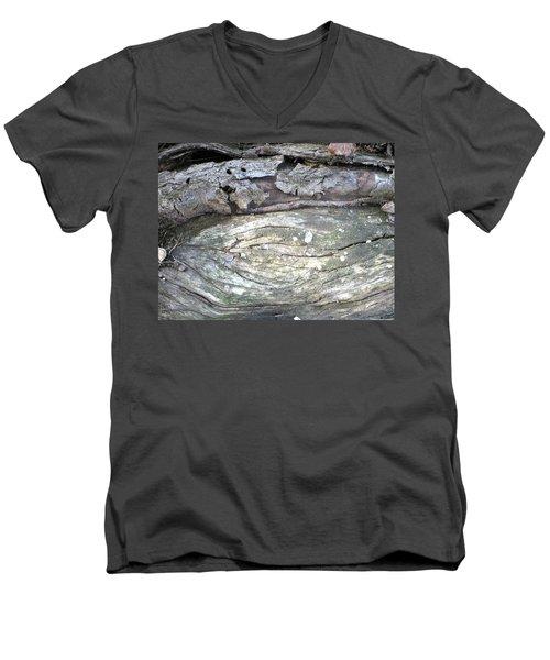 Wood Knot Men's V-Neck T-Shirt