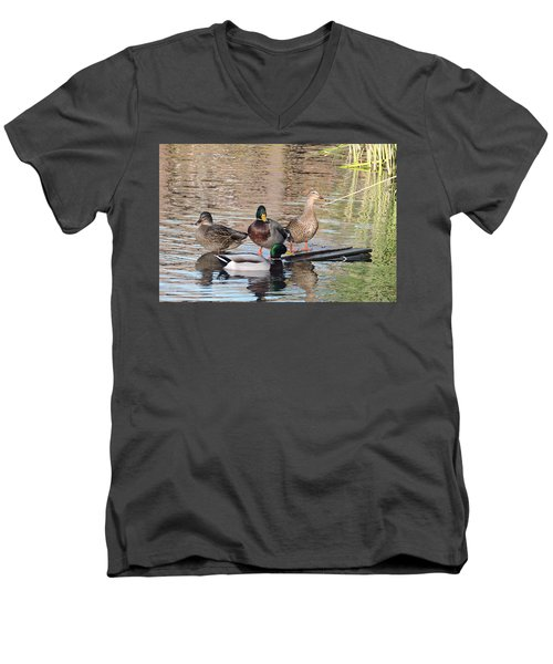Woodies At Neary Men's V-Neck T-Shirt