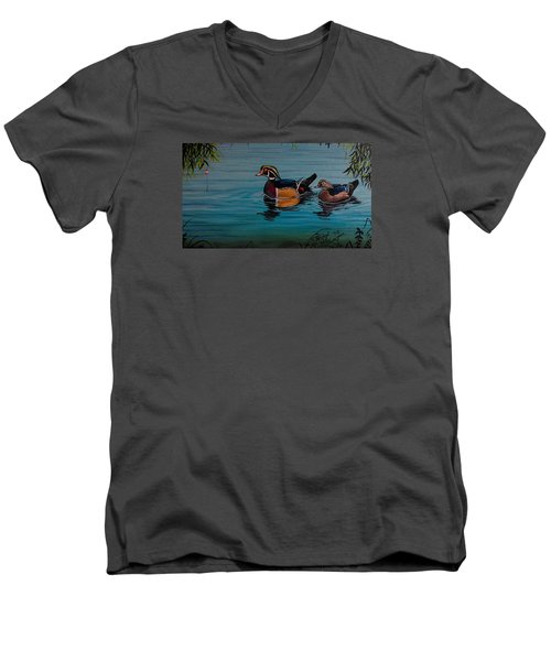 Woodies Men's V-Neck T-Shirt