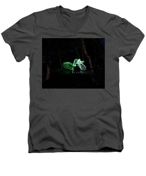 Woodland Fairies Men's V-Neck T-Shirt