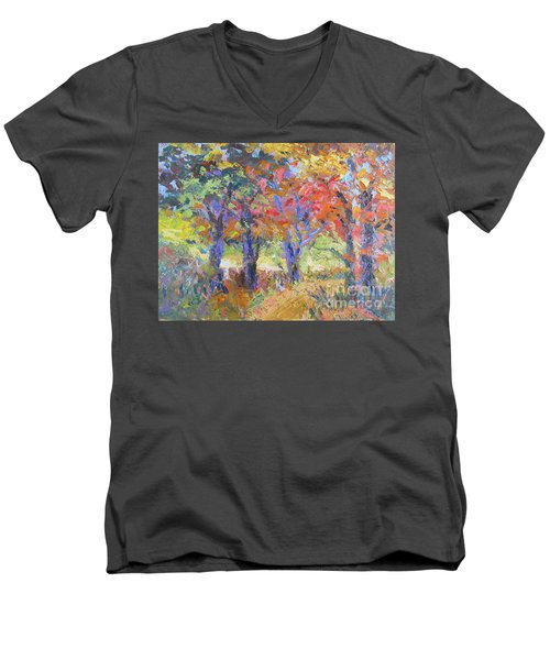 Woodland Walk Men's V-Neck T-Shirt
