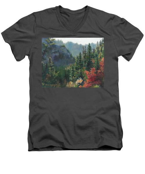 Woodland Wonder Men's V-Neck T-Shirt