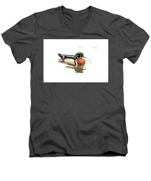 Woody Men's V-Neck T-Shirt