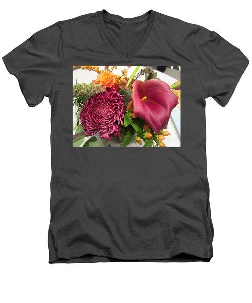 Words Are Not Enough Men's V-Neck T-Shirt
