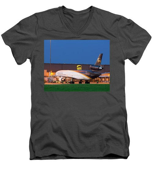Working The Night Shift Men's V-Neck T-Shirt