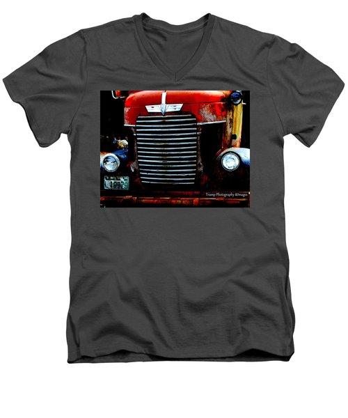 Working Men's V-Neck T-Shirt
