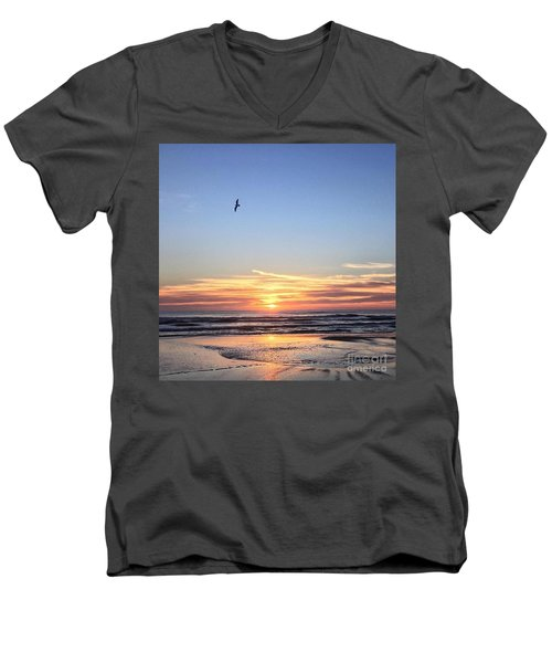 World Gratitude And Peace Day Men's V-Neck T-Shirt