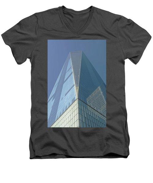 World Trade Center 2016 Men's V-Neck T-Shirt