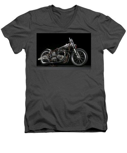 World's Fastest Vintage Triumph Men's V-Neck T-Shirt