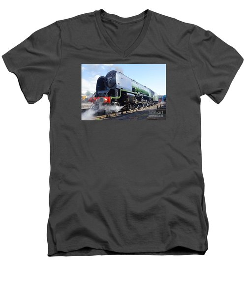Worm's Eye View Men's V-Neck T-Shirt