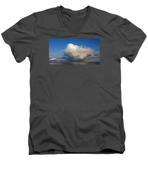 Worthing  Cloudscape1 Men's V-Neck T-Shirt by John Topman