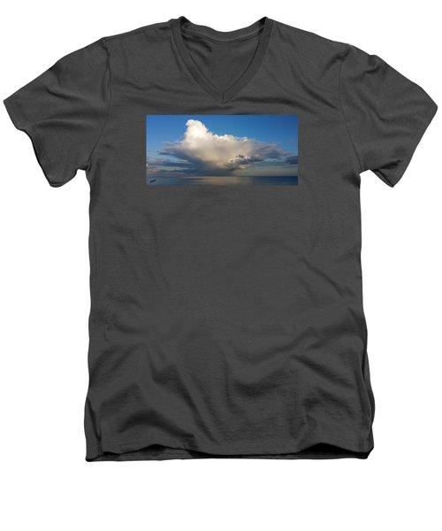 Worthing Cloudscape2 Men's V-Neck T-Shirt