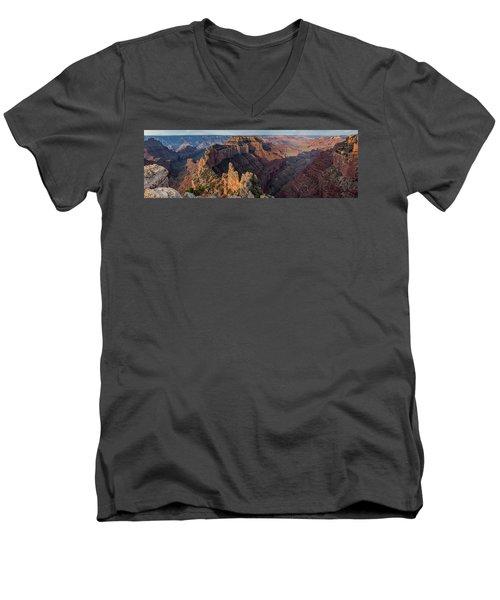 Wotan's Throne Panorama I Men's V-Neck T-Shirt