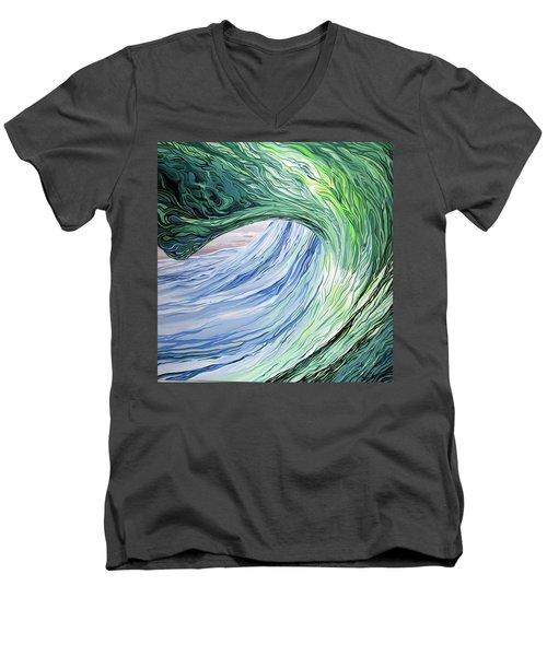 Wrap Around Men's V-Neck T-Shirt