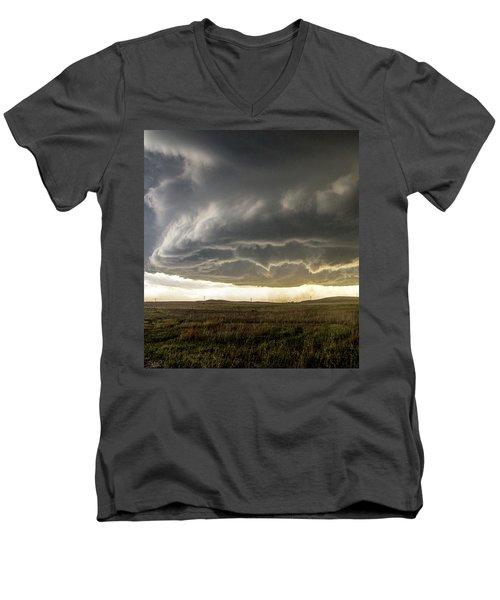 Wray Colorado Tornado 021 Men's V-Neck T-Shirt