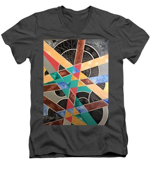 Wrong And Sad Men's V-Neck T-Shirt by Hang Ho