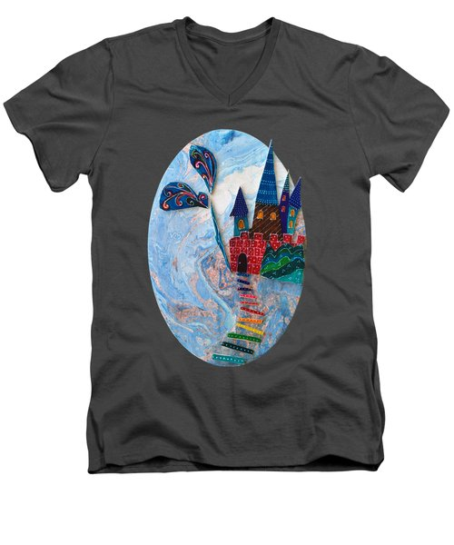 Wuthering Heights Men's V-Neck T-Shirt