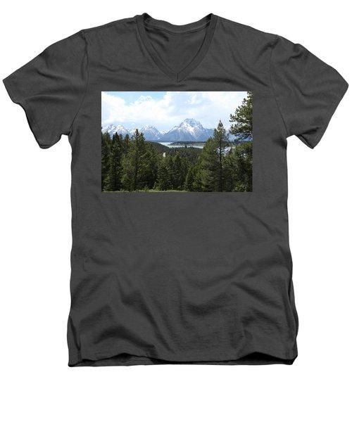 Wyoming 6490 Men's V-Neck T-Shirt