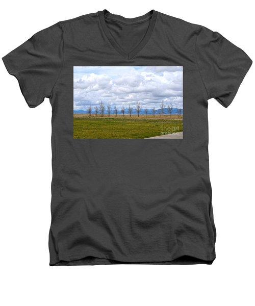 Wyoming-dwyer Junction Men's V-Neck T-Shirt