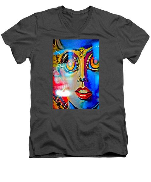 X Is For Xenon - Pinball Men's V-Neck T-Shirt