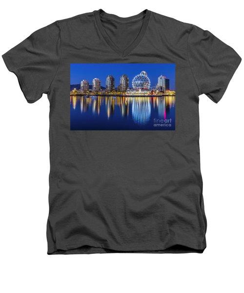 Yaletown Men's V-Neck T-Shirt