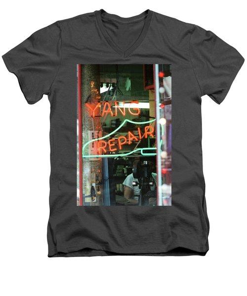Yang Repair Men's V-Neck T-Shirt