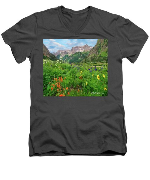 Yankee Boy Basin Men's V-Neck T-Shirt