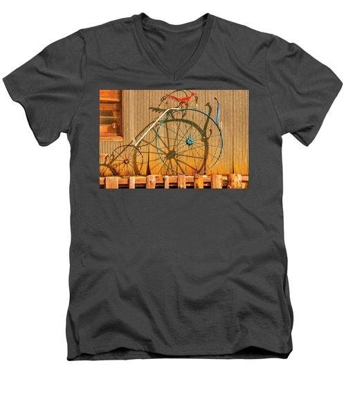 Yankey Doodle Ingenuity Men's V-Neck T-Shirt
