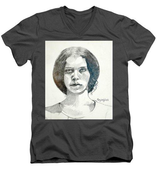 Yelena Men's V-Neck T-Shirt