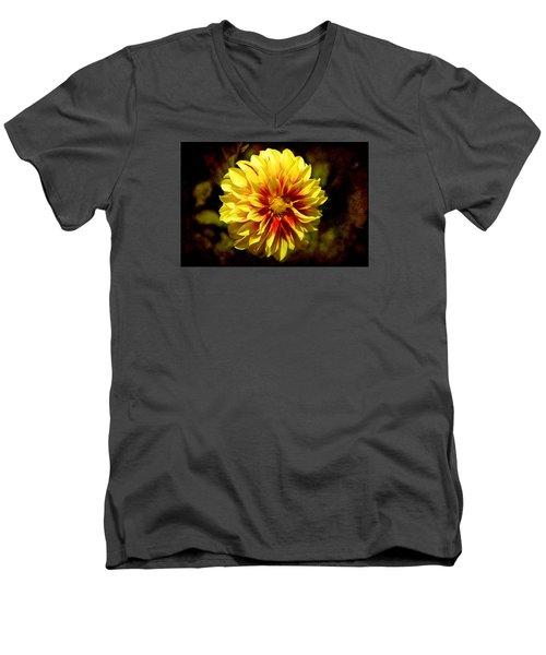Yellow Artistry Men's V-Neck T-Shirt