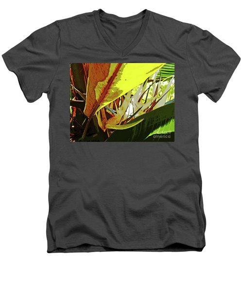 Yellow Bird Men's V-Neck T-Shirt
