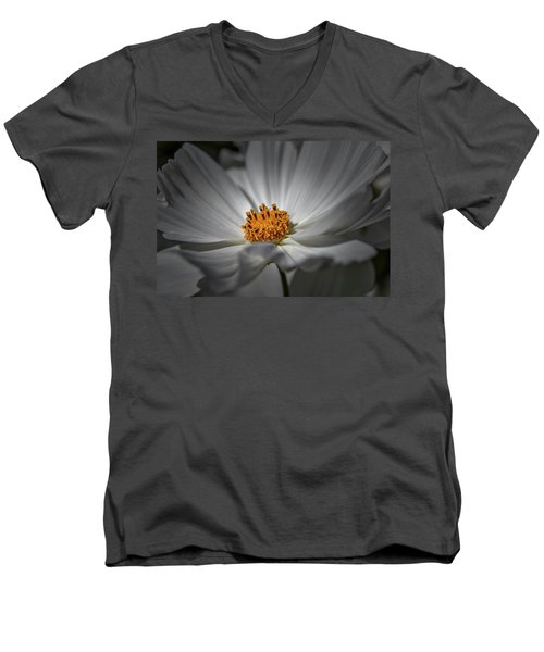Yellow Hart #h8 Men's V-Neck T-Shirt