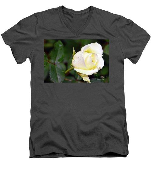 Yellow Rose 2 Men's V-Neck T-Shirt