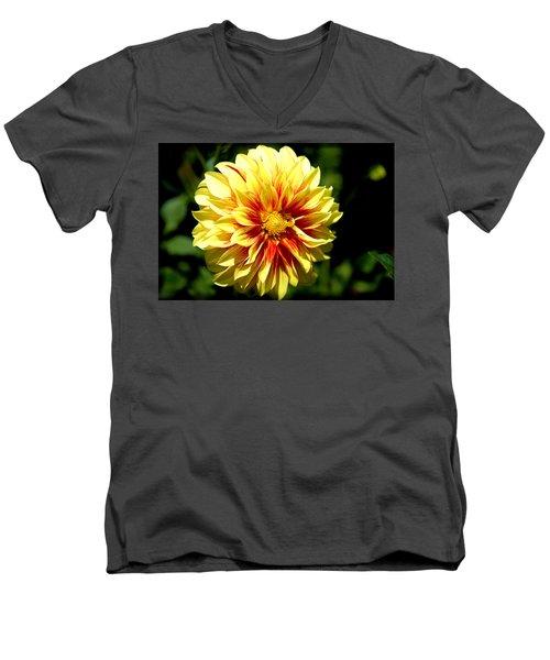 Yellow Sunshine Men's V-Neck T-Shirt