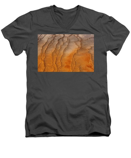 Yellowstone 2530 Men's V-Neck T-Shirt by Michael Fryd