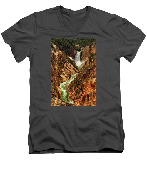 Yellowstone Men's V-Neck T-Shirt
