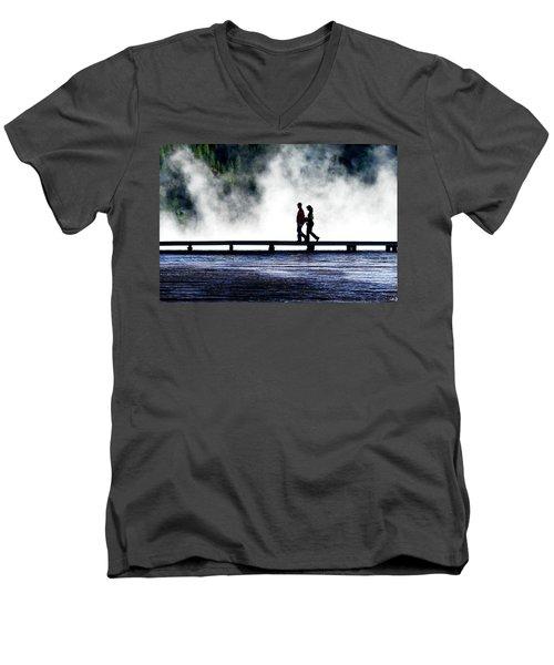 Yellowstone Walkers Men's V-Neck T-Shirt