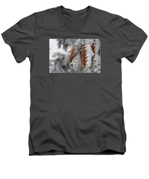 Yep, It's Winter Men's V-Neck T-Shirt