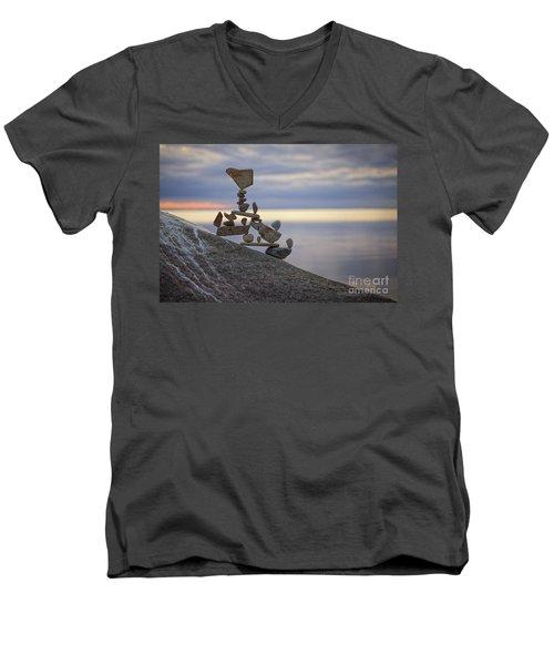 Yippie Kay Yay Men's V-Neck T-Shirt