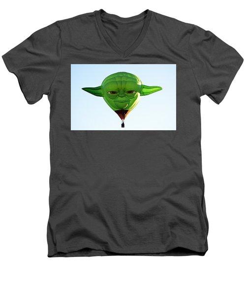 Yoda  Men's V-Neck T-Shirt
