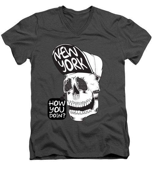 Yorker Men's V-Neck T-Shirt