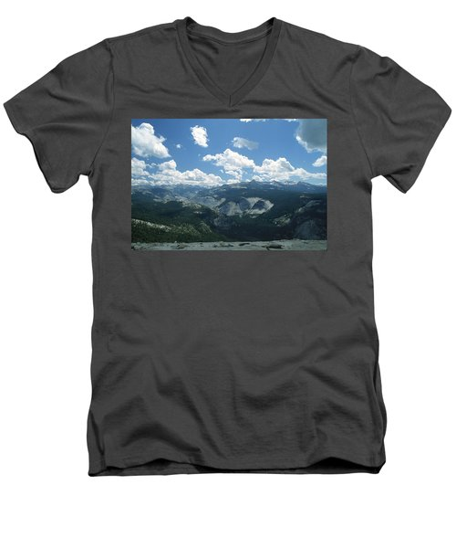 Yosemite Panoramic Men's V-Neck T-Shirt