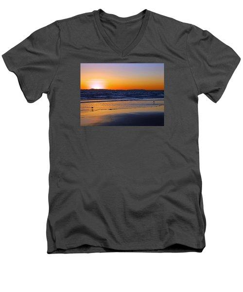 You And Me Men's V-Neck T-Shirt by Everette McMahan jr