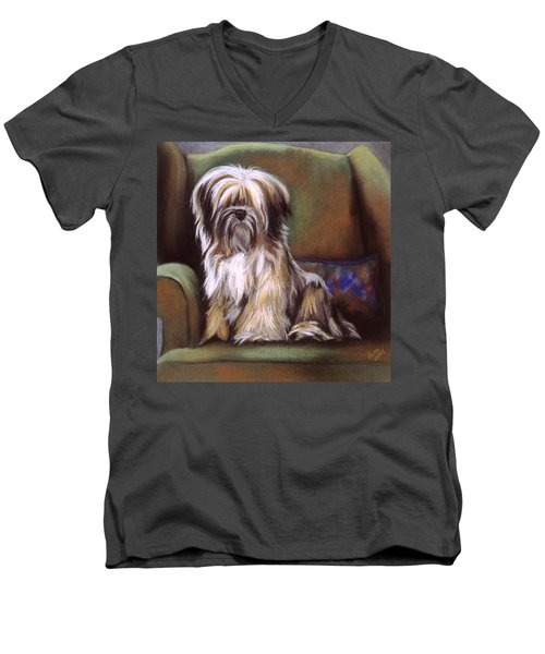 You Are In My Spot Again Men's V-Neck T-Shirt