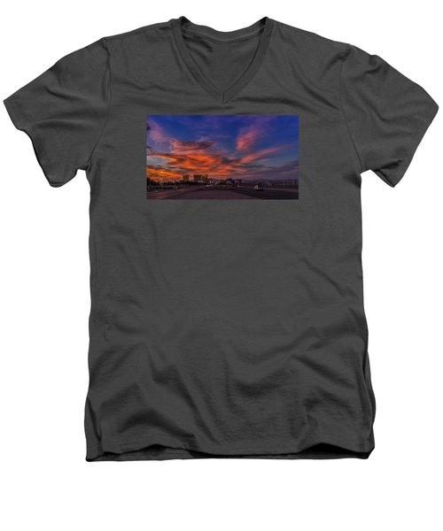 You'll Never Walk Alone Men's V-Neck T-Shirt